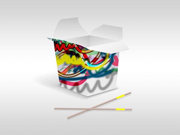 Sie sehen Free Forms °102 als Gestaltung einer Verpackung